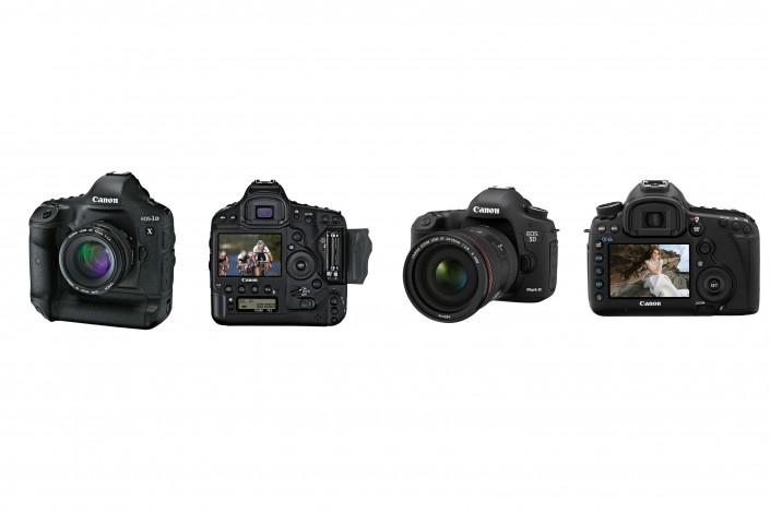 Presentación Canon 1DX y 5Dmark3