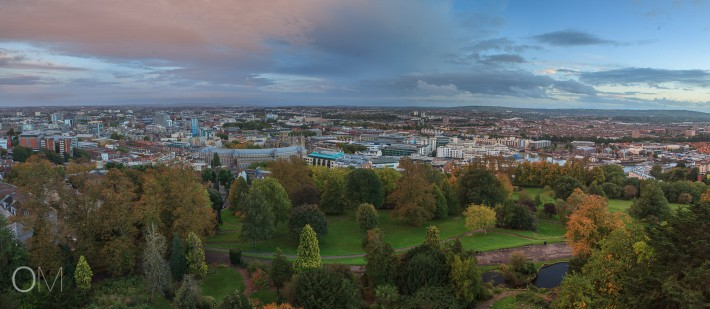 Bristol Panoama from Cabot Tower