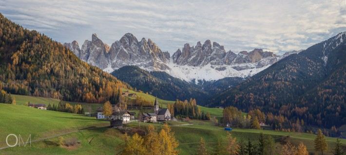 5 days in Dolomites's Autumn