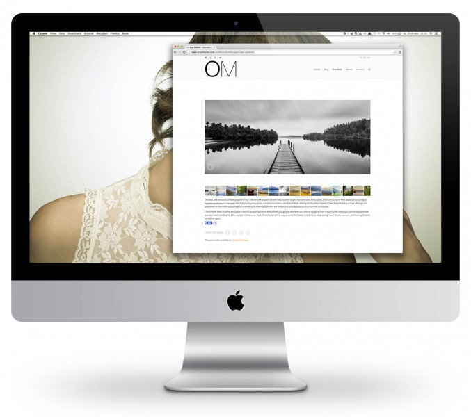 New website design at Oriolmorte.com