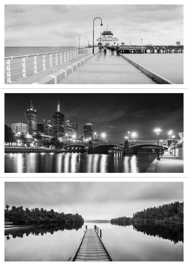 Pack de Postals Panoràmiques Blanc i Negre