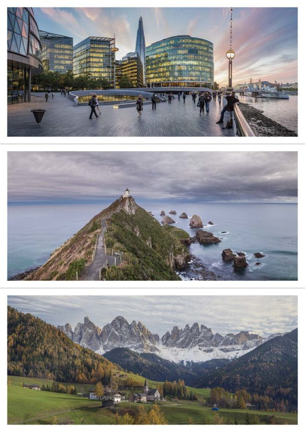 Panorama Postcards Color Pack