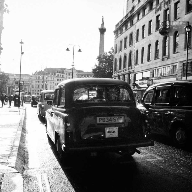 Strand Street towards Trafalgar Square