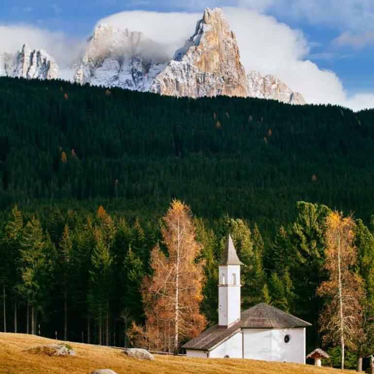 Pale di San Martino desde Paneveggio