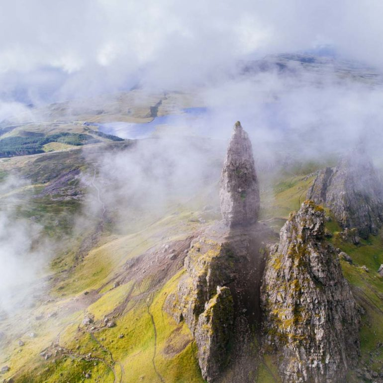 Old Man of Storr in Isle of Skye